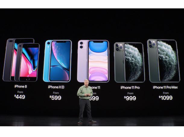 iphone xs vs 11